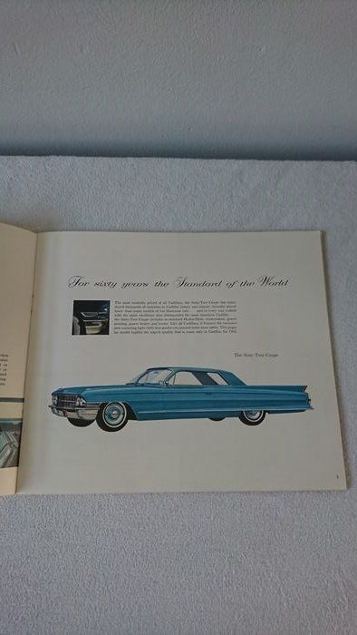 Originele dealer brochure from Cadillac from '62 - Cadillac - 1962