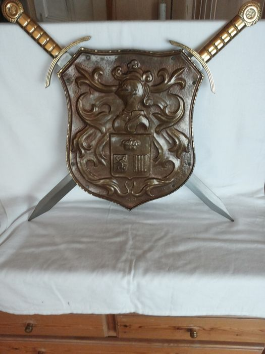 France - brons-staal-[damascus ] - Light Cavalry - Cavalry - Sword