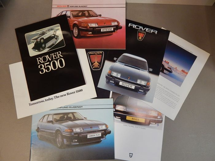 Brochures / catalogues - Rover 2000 - 3500 (8 items)  - 1970-1985