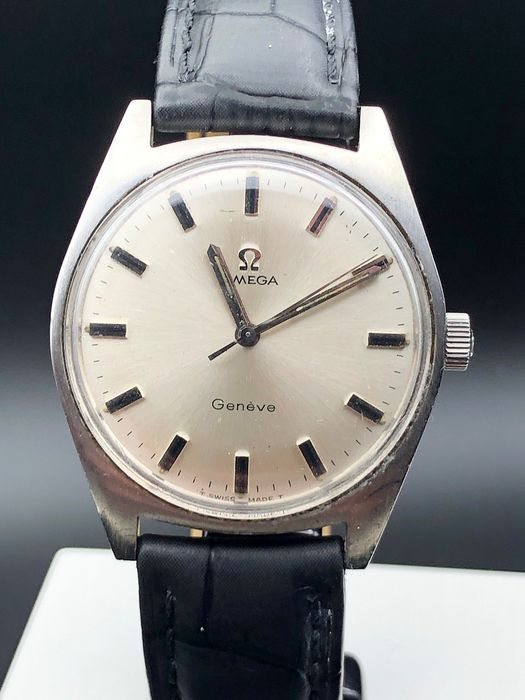 """Omega - Geneve - cal 601 - """"NO RESERVE PRICE"""" - 135041 - Homme - 1970-1979"""