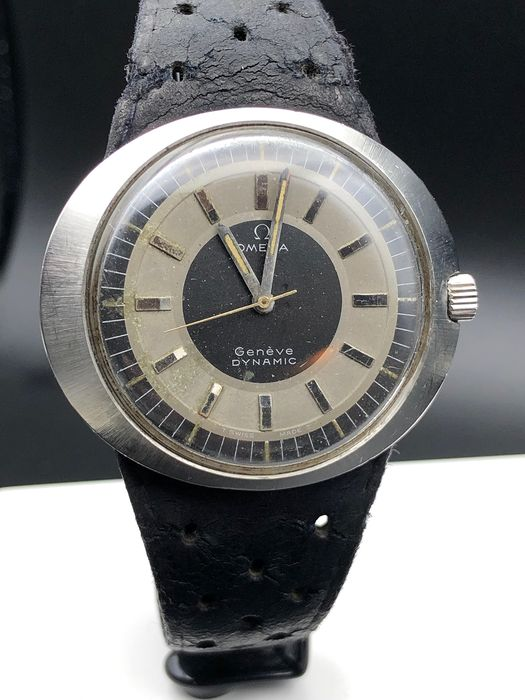 "Omega - Geneve Dynamic - Date - ""NO RESERVE PRICE"" - Men - 1970-1979"