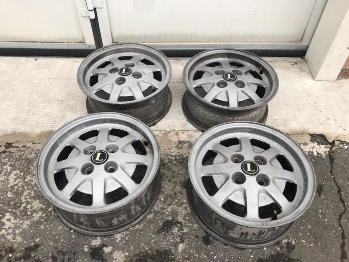 Alloy wheels - Lancia - Cerchi Originali Lancia - 1973-1973