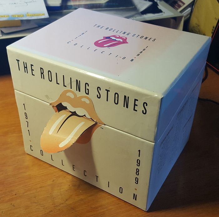THE ROLLING STONES - Collection 1971-1989  - Multiple titles - Box set contains 13 albums and 1 Bonus CD with rare tracks (15CDs in total).  - 1971/1989