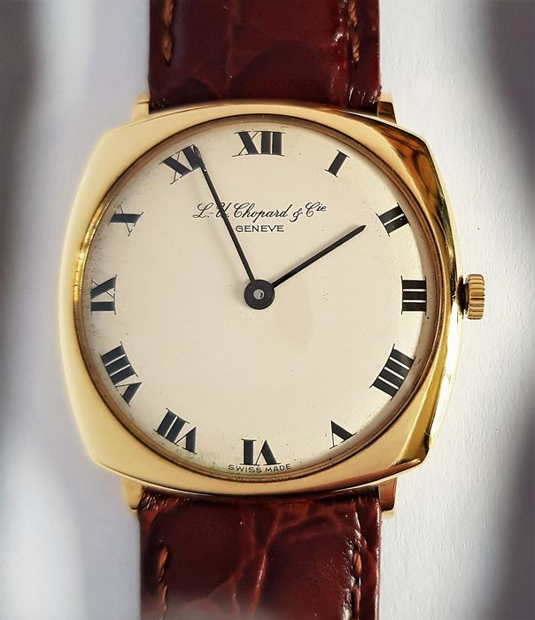 "Chopard - Solid 18k Dress watch - ""NO RESERVE PRICE - Unisex - 1960-1969"