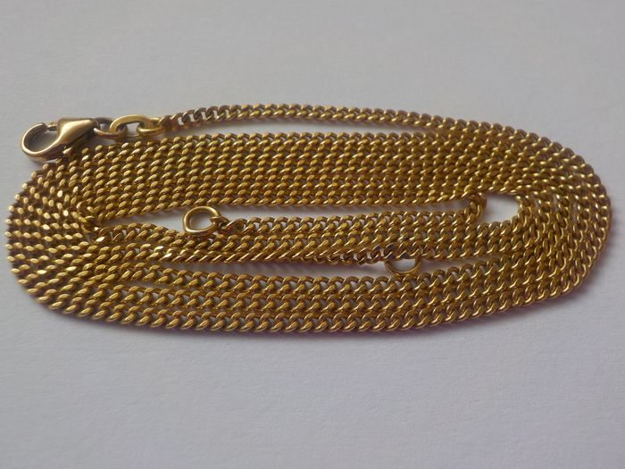 18 kt. Yellow gold - Adjustable necklace