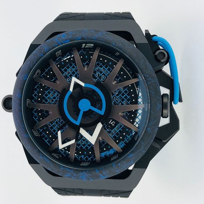 Mazzucato - RIM Reversible Monza Carbon Fiber Blue Automatic and  Chronograph  - LIMITED EDITION - Hombre - brand new