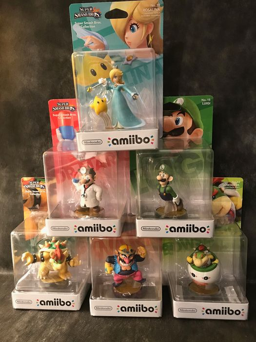 Nintendo Amiibo - Figurine(s) (6) - In original sealed box