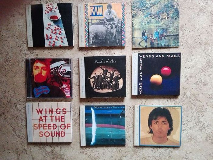 Paul McCartney & Related, Wings - CD's, DVD - 1970/2014