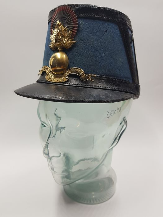 France - Shako from the military school of Saint Cyr