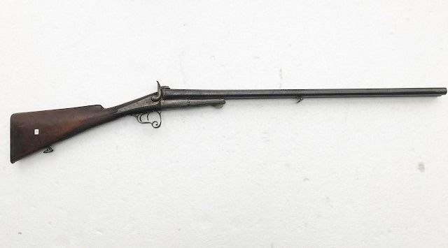 Frankrijk - St. Etienne - Double Barrel - Pinfire (Lefaucheux) - Shotgun - 18mm cal