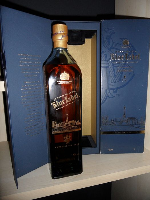 Johnnie Walker Blue Label - Paris Skyline - 1.0 Litre
