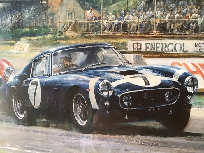 Dekoratives Objekt -  Stirling Moss 250 SWB Rob Walker Goodwood (signed) + 250GTO/612