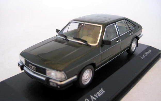 MiniChamps - 1:43 - Audi 100 Avant GL 1979 Greenmetallic - Limited Edition - Mint Boxed - Factory Sold Out