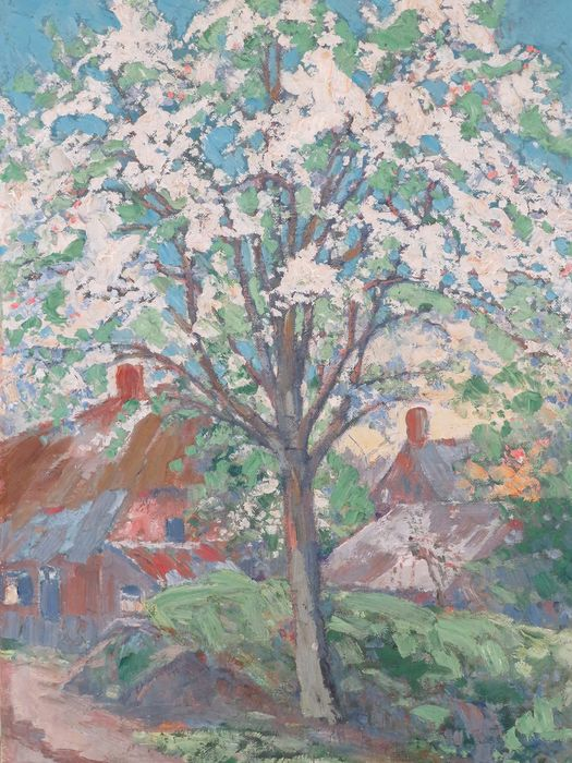 Jan Kruysen (1874-1938) - Bloesemboom