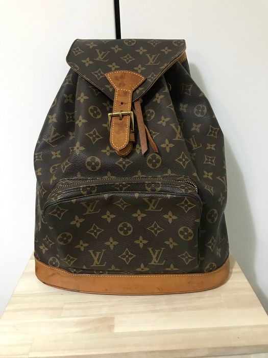 Louis Vuitton - Montsouris Monogram GM Mochila