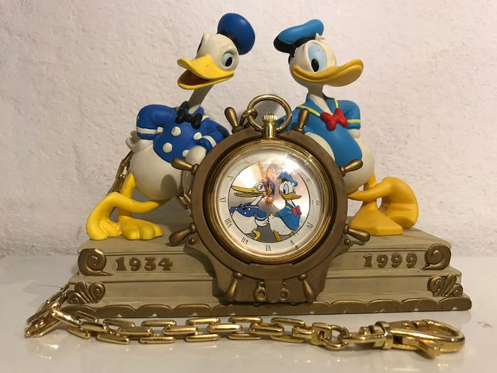 Walt Disney - Klok - Donald Duck - 65 Years - Limited edition - (1999)