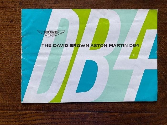 Brochures / catalogues - Aston Martin DB4 1963 full brochure including convertible - 1963-1963