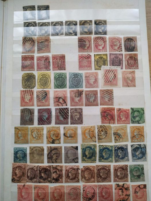 Spain 1850/1980 - various stamps