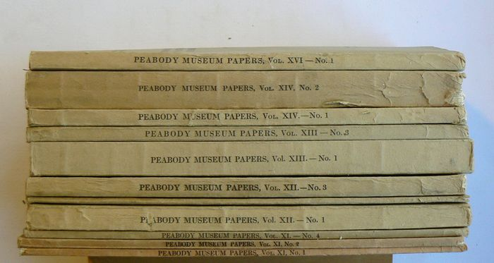 Charles C. Willoughby et al. - Papers of the Peabody Museum of American Archaeology and Ethnology, Harvard University - 1924/1937