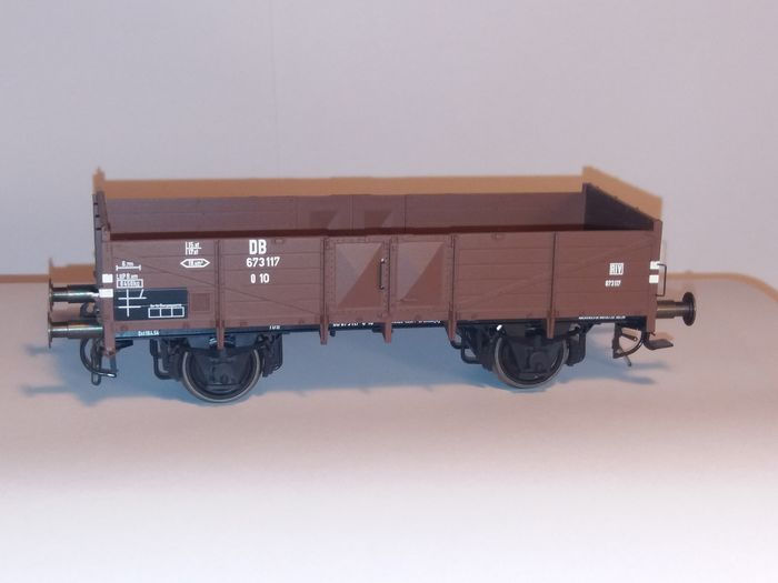0 Scale Models 0 - 481 81 - Freight carriage - Low side car type 0 10 - DB
