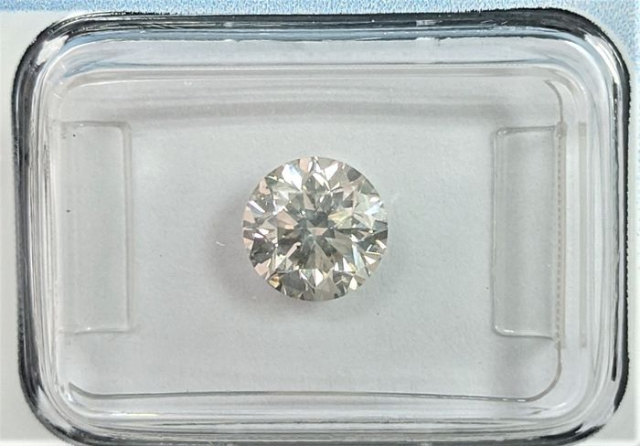 Diamant - 1.33 ct - Brillant - J - SI2, IGI Antwerp - No Reserve Price