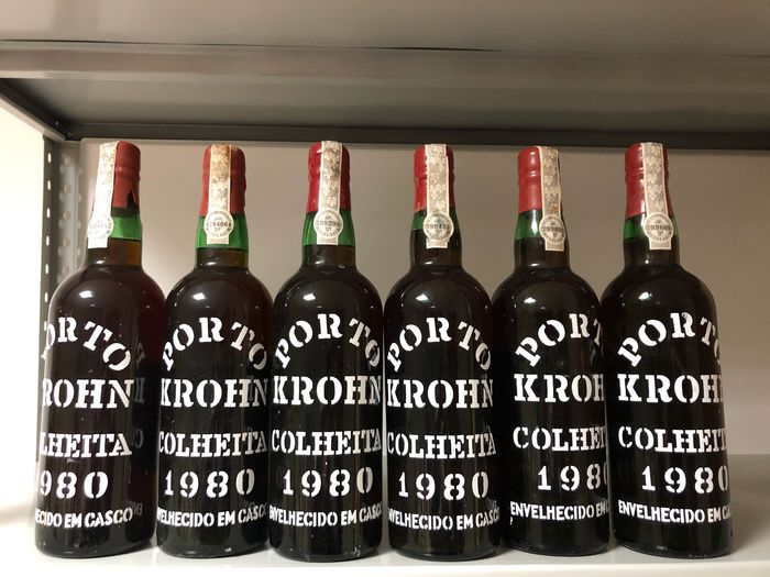 1980 Krohn  Colheita Port - 6 Bottles (0.75L)