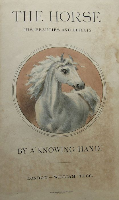 Knowing Hand  - The Horse. His Beauties and Defects - 1866