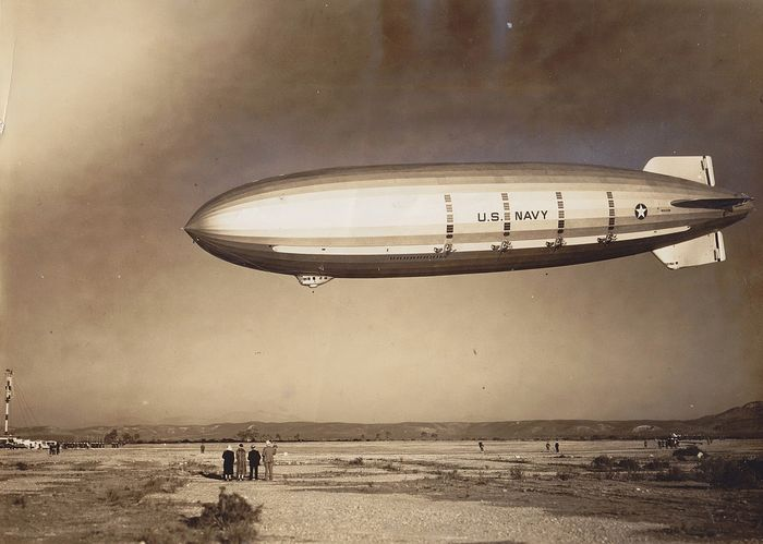 UNknown/ Official U.S Navy - The USS Macon