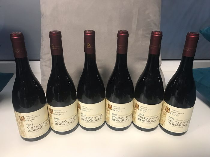 """2016 Volnay 1er Cru """"Robardelle"""" -- Domaine Bouley  - Volnay - 6 Bouteille (0,75 l)"""