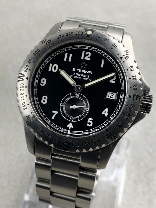 Eterna - Airforce Automatic  - 8418.41.40/1 - Herren - 2011-heute