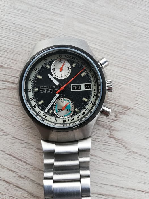 """Citizen - flyback chronograph - """"NO RESERVE PRICE"""" - Heren - 1970-1979"""