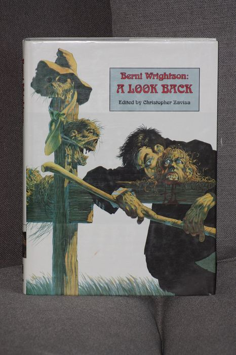 """Bernie wrightson - """"A Look Back"""" rare numbered edition 1991 - EO - (1991)"""