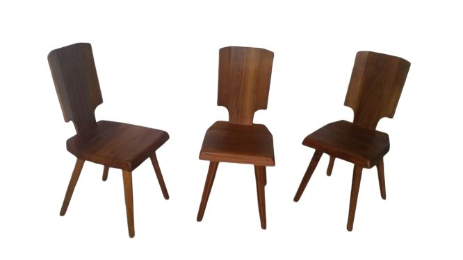 Pierre Chapo - Seltz - Chair (3) - S28