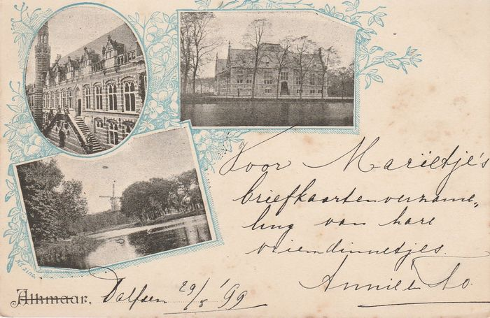 Netherlands - City and country - Postcards (Collection of 134) - 1899-1940