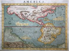 Nordamerika, Central & South America; G. Botero - America - 1596