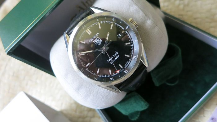 TAG Heuer - Carrera Twin-Time Automatic - Ref. WV2115-0 - Men - 2011-present