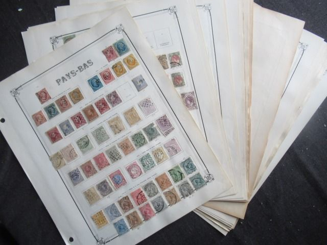 Netherlands and Italian colonies - Collection of stamps