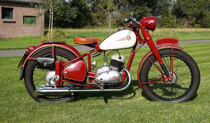 CZ - Model C - Pathfinder - 150 cc - 1952