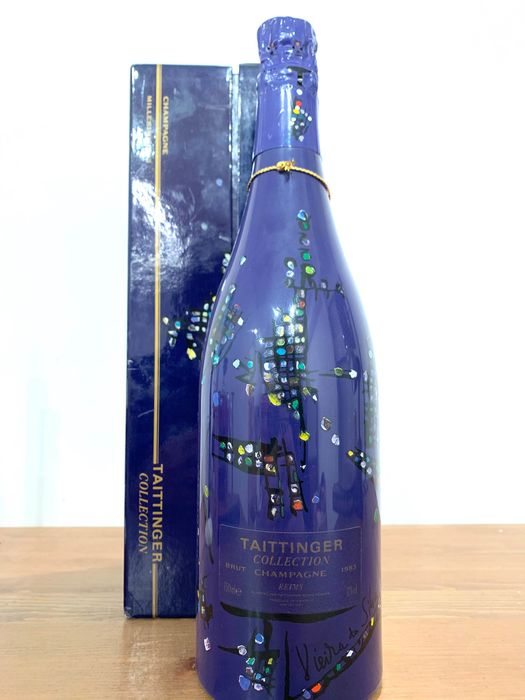 1983 Taittinger Collection Vieira da Silva - Champagne - 1 Bottle (0.75L)