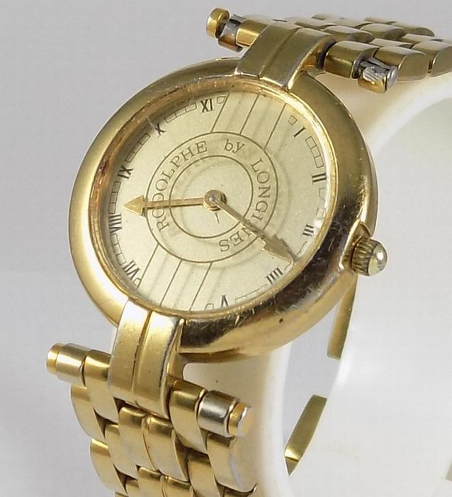 """Longines - """"NO RESERVE PRICE'' Rodolphe by Longines  - L 343.2 - Women - 1980's"""