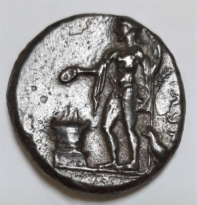 Grecia (antica) - Pamphylia, Side. AR Stater, c. 370-330 BC - Argento