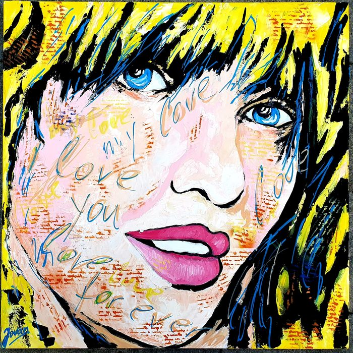 Jovan Srijemac - Pop Art Lisa,  I love you