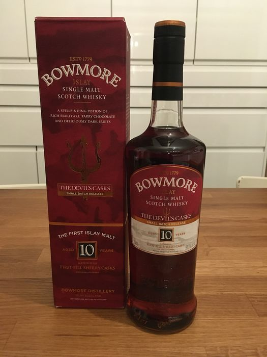 Bowmore 10 years old The Devil's Casks (First Release) - Original bottling - 700ml