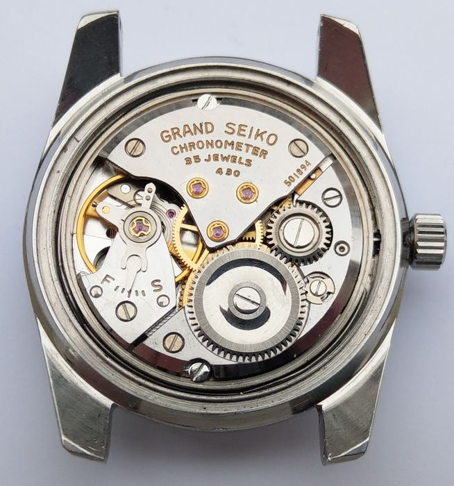 Seiko - 'NO RESERVE PRICE' Grand Seiko GS Chronometer 35 Jewels - 43999  - Homme - 1960-1969