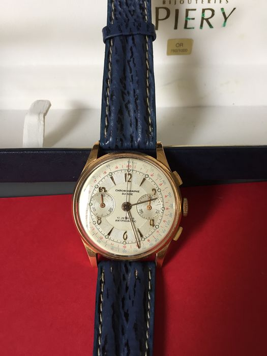 Chrongraphe Suisse - 18k - Men - 1960-1969