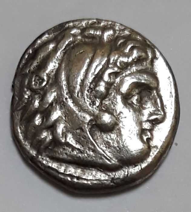Grecia (antica) - Kings of Macedon. AR Drachm, Philip III Arrhidaeus, 323-317 BC. In the name and types of Alexander III. Sardeis - Argento