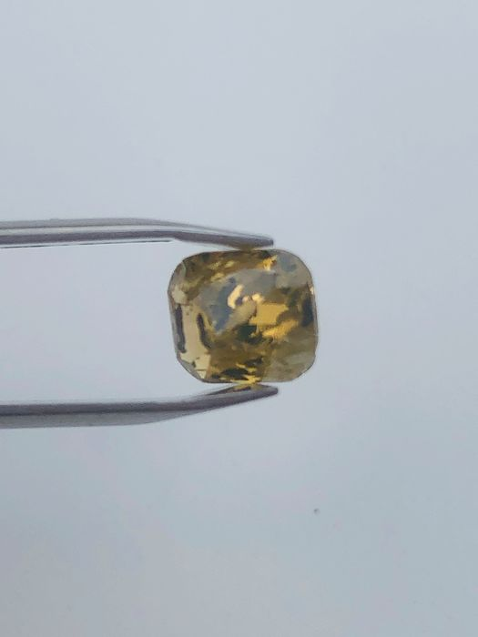1 pcs Diamond - 1.62 ct - Cushion - I3 (piqué)