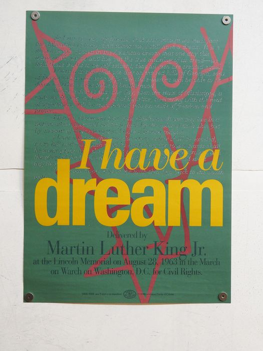 anonimo - I have a dream delivered by Martin Luther King Jr. memorial 1963-1993 - 1993