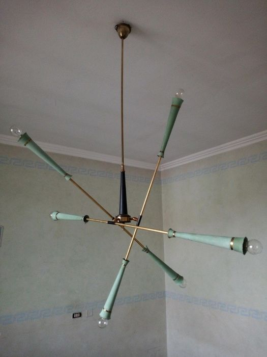 Sputnik articulated suspension chandelier