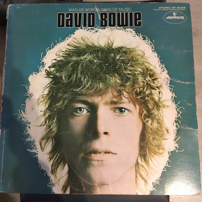 David Bowie - Man Of Words / Man Of Music  - LP Album - 1969
